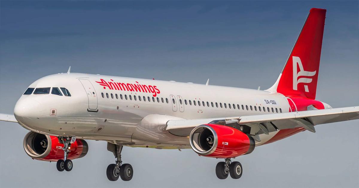 Airbus A320-200 fra Animawings. (Foto: Animawings   PR))