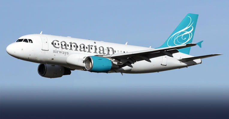 Canarian Airways skal benytte Airbus A319. (Pressefoto)