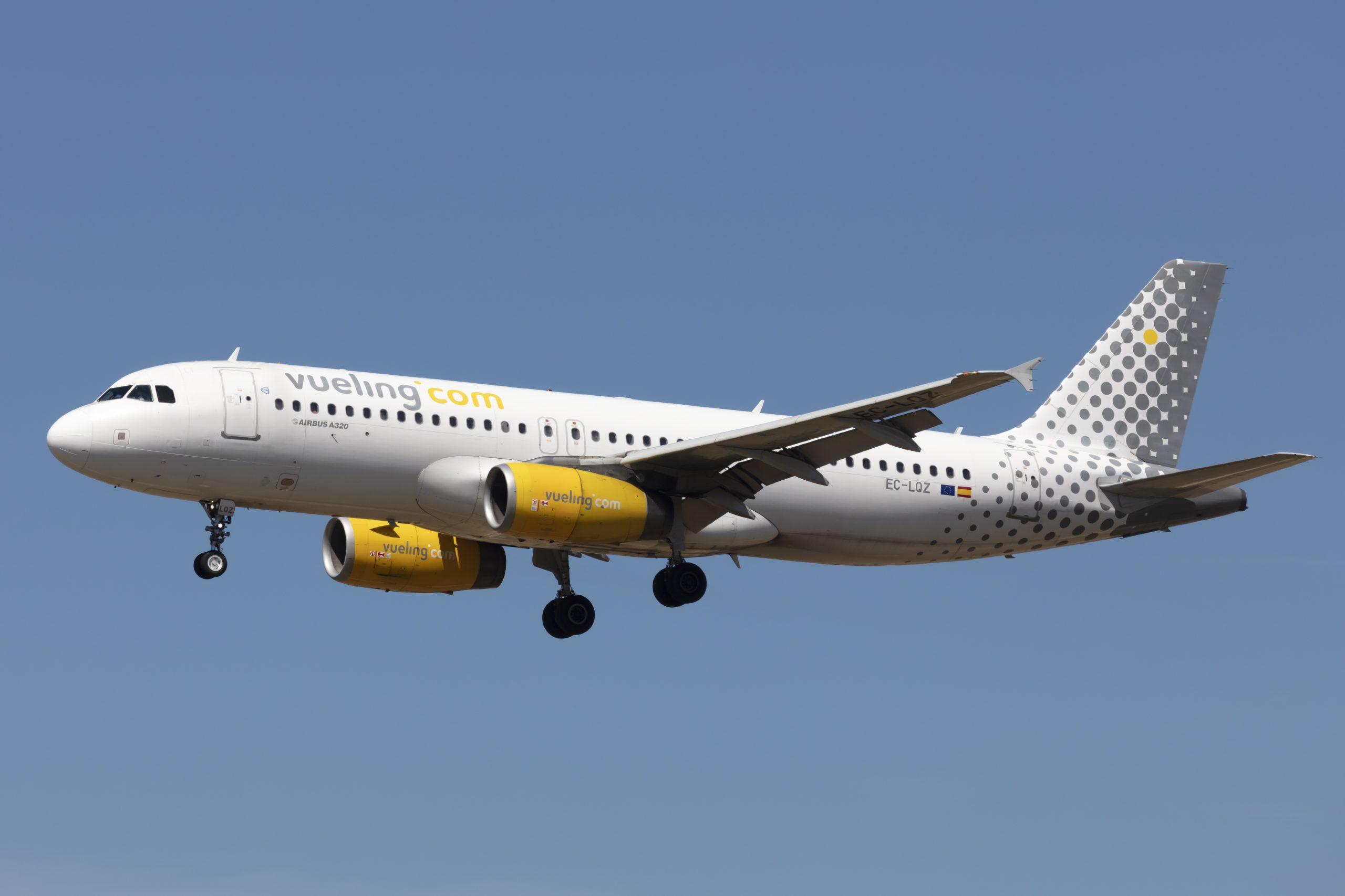 Airbus A320-200 fra Vueling. (Foto: (Foto: © Thorbjørn Brunander Sund, Danish Aviation Photo)