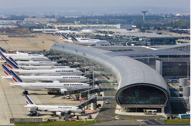 Terminal 2E i Paris-Charles de Gaulle. Foto: Group ADP