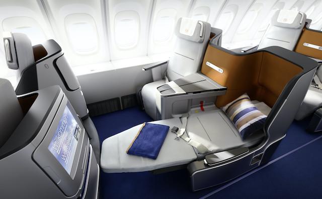 Lufthansa Business Class. Foto: Lufthansa