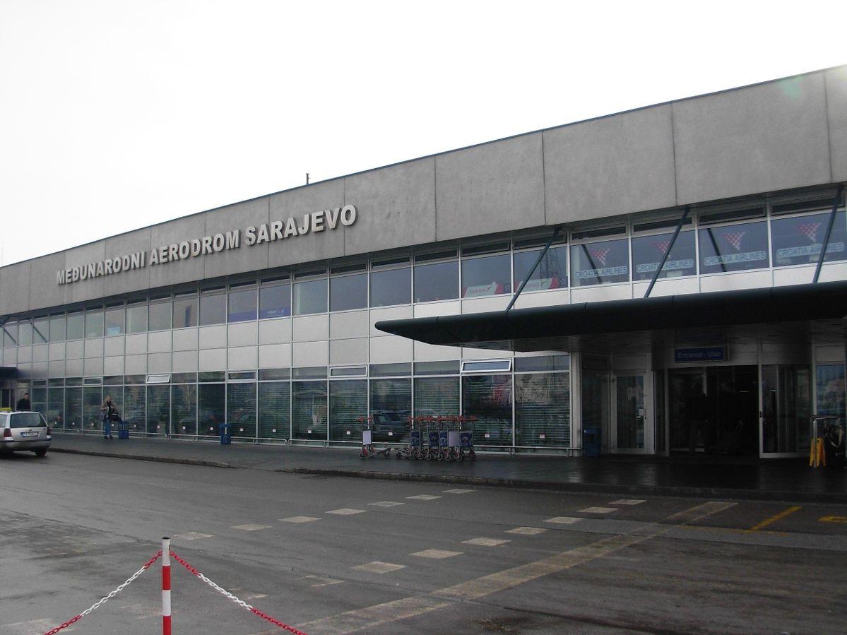 Medunarodni aerodrom Sarajevo – også kendt som Sarajevo International Airport. (Foto: Micki | CC 3.0)