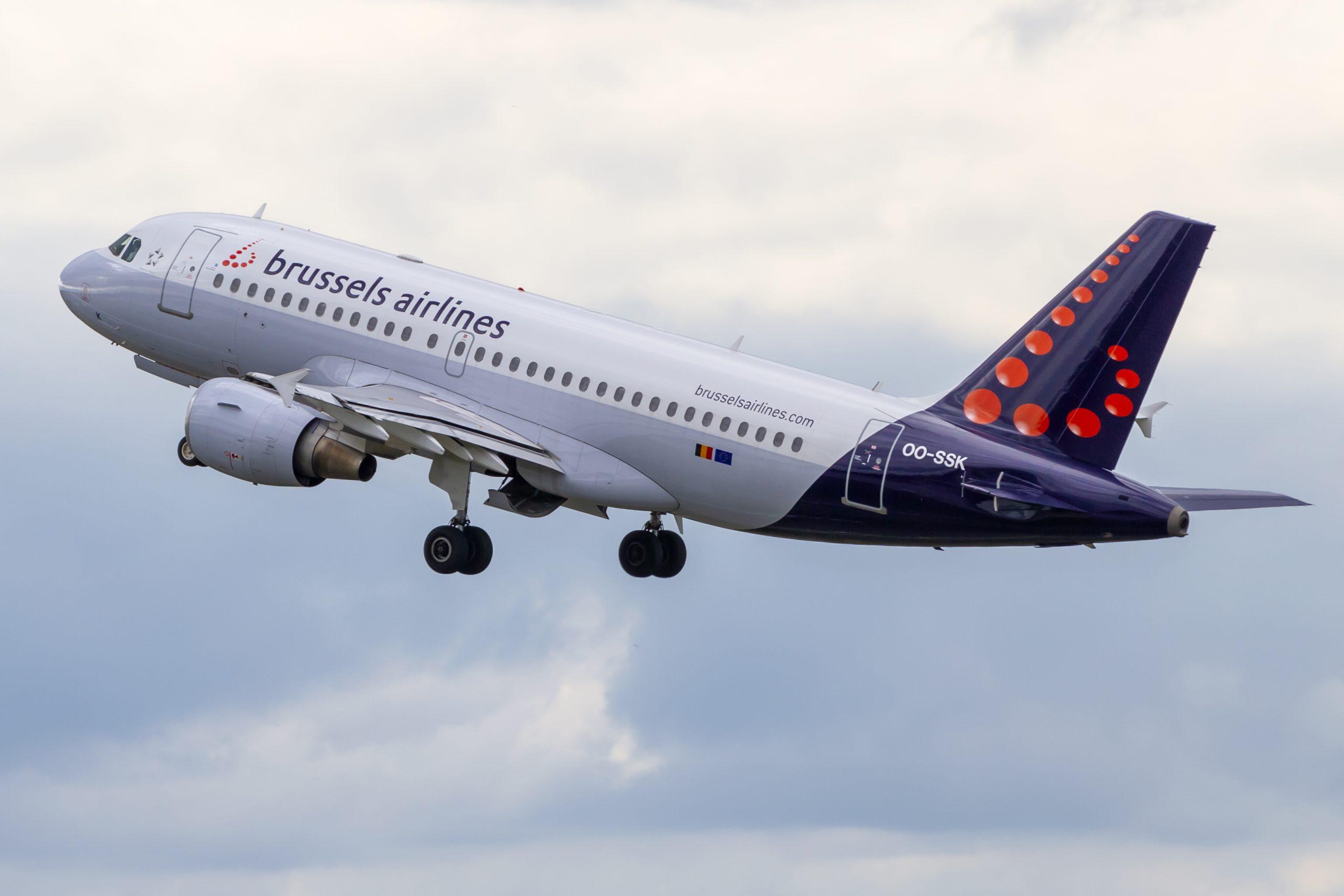 En Airbus A319-100 fra Brussels Airlines. Foto: © Thorbjørn Brunander Sund, Danish Aviation Photo
