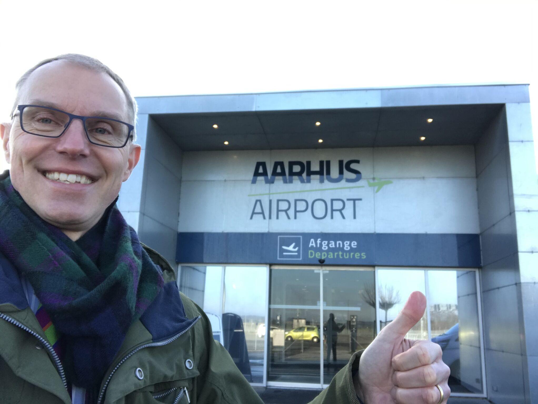 Peter Møller Laursen, kommerciel direktør i Aarhus Lufthavn. (Privatfoto)
