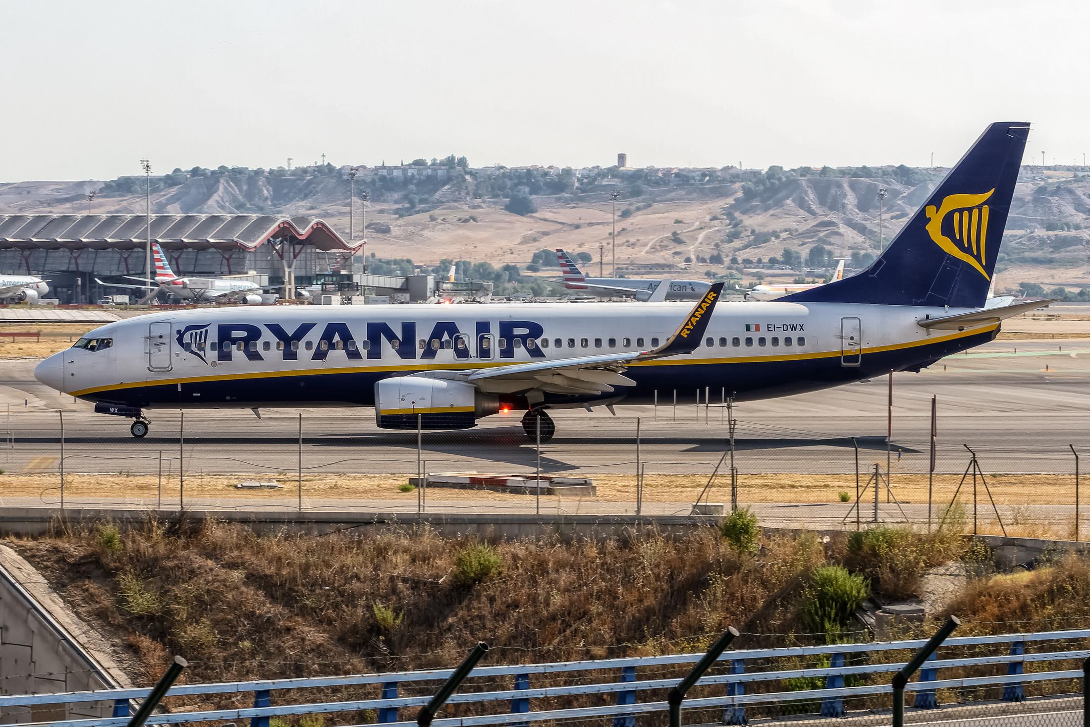 Ryanair Boeing 737-800 i Palma de Mallorca Airport. (Foto: Oliver Holzbauer | CC 2.0)
