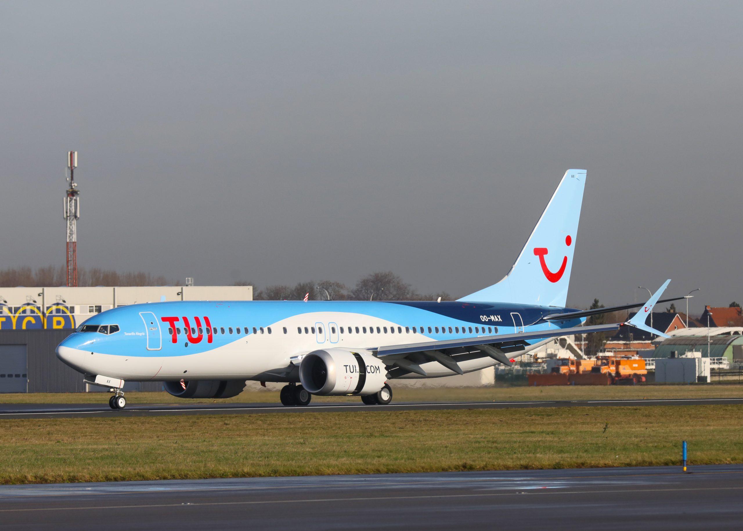 Boeing 737 MAX 8 fra TUI fly Belgium (Foto: TUI | PR)