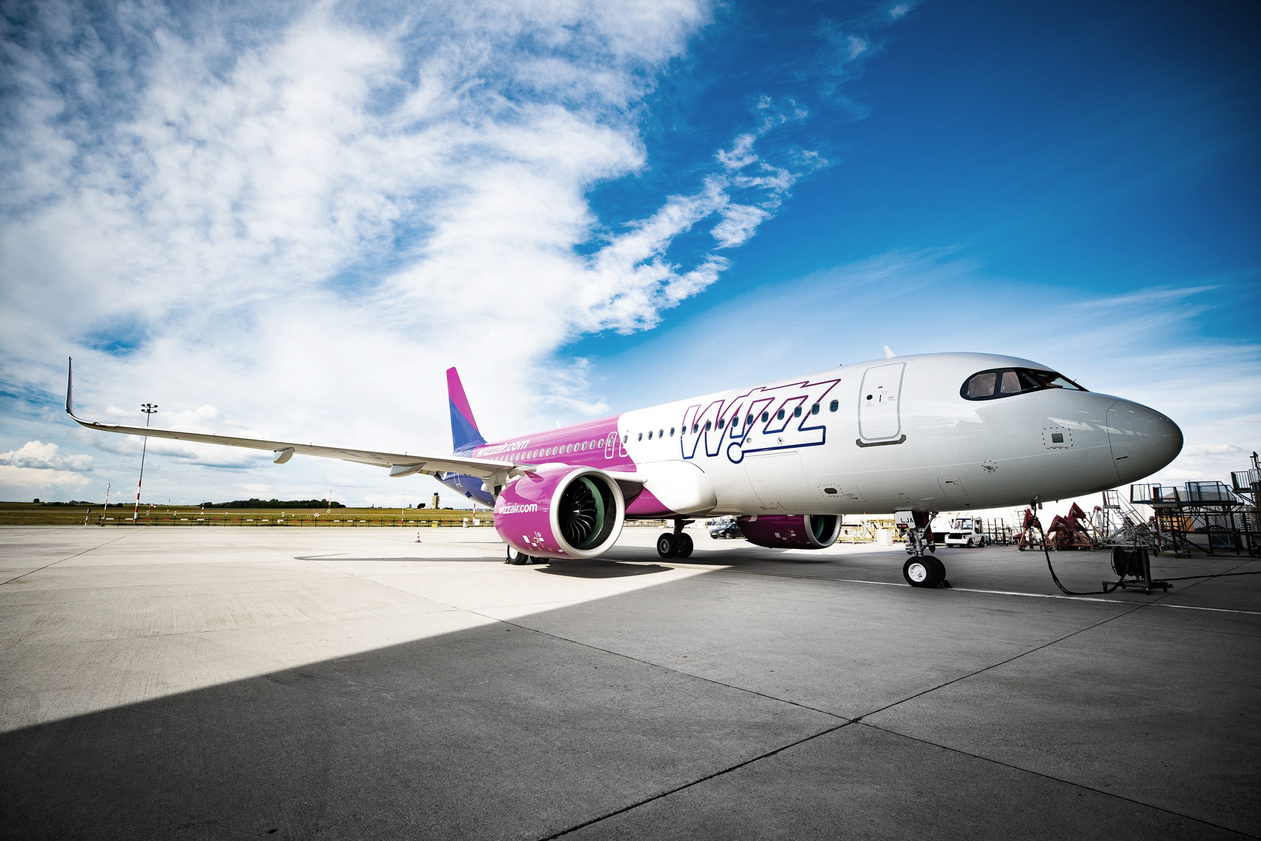 En Airbus A320neo fra Wizz Air. Foto: Wizz Air
