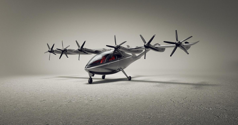 Den fremtidige elektriske lufttaxi fra amerikanske Archer. Foto: Archer Aviation