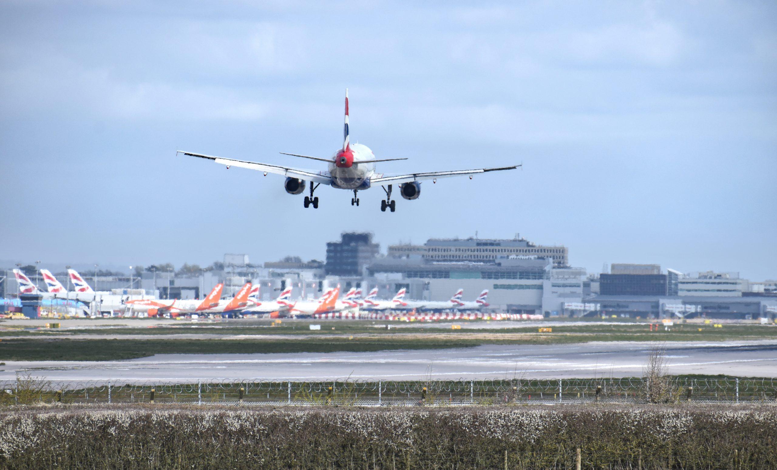London Gatwick Airport. (Foto: Rich Higgins | shutterstock_1688116198)