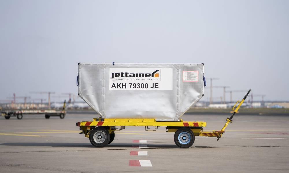 En såkaldt Unit Load Device (ULD) fra den tyske virksomhed Jettainer. Foto: Jettainer