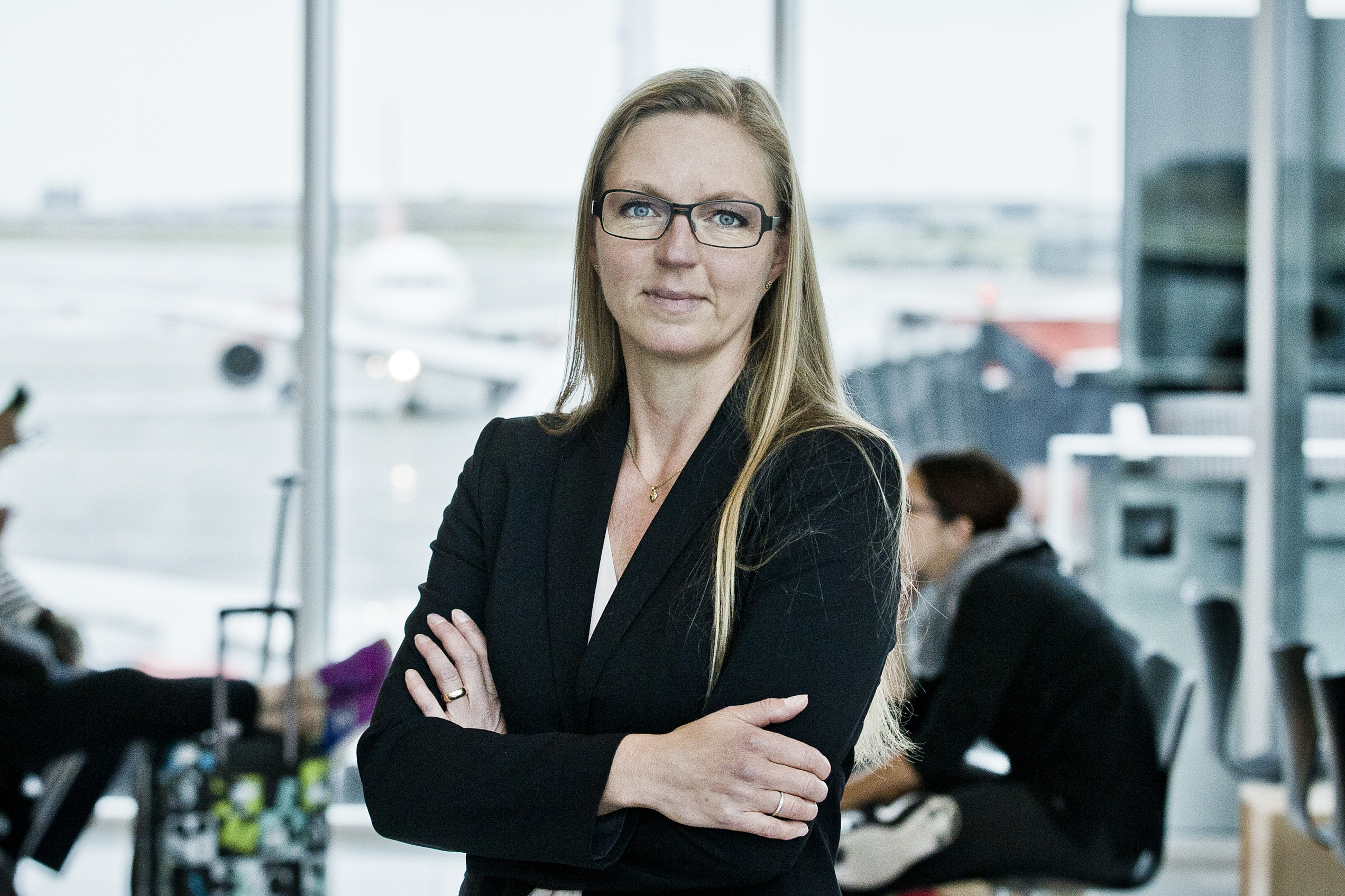 Annika Liljenberg, kommende ruteudviklingschef i Aalborg Lufthavn. (Foto: CPH)