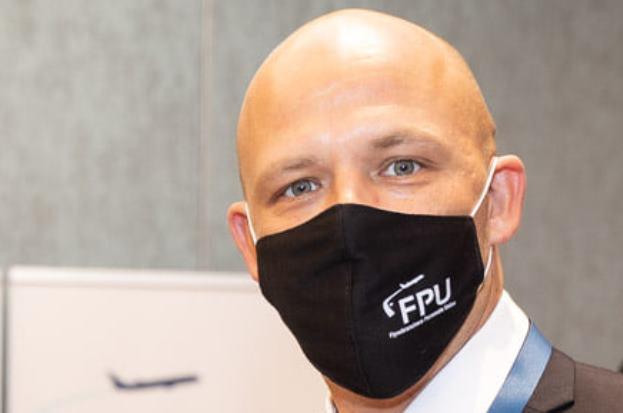Anders Mark Jensen, næstformand i Flyvebranchens Personale Union (Foto: FPU)
