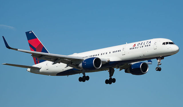 En Boeing 757-200 fra Delta Air Lines. Foto: Wikimedia Commons