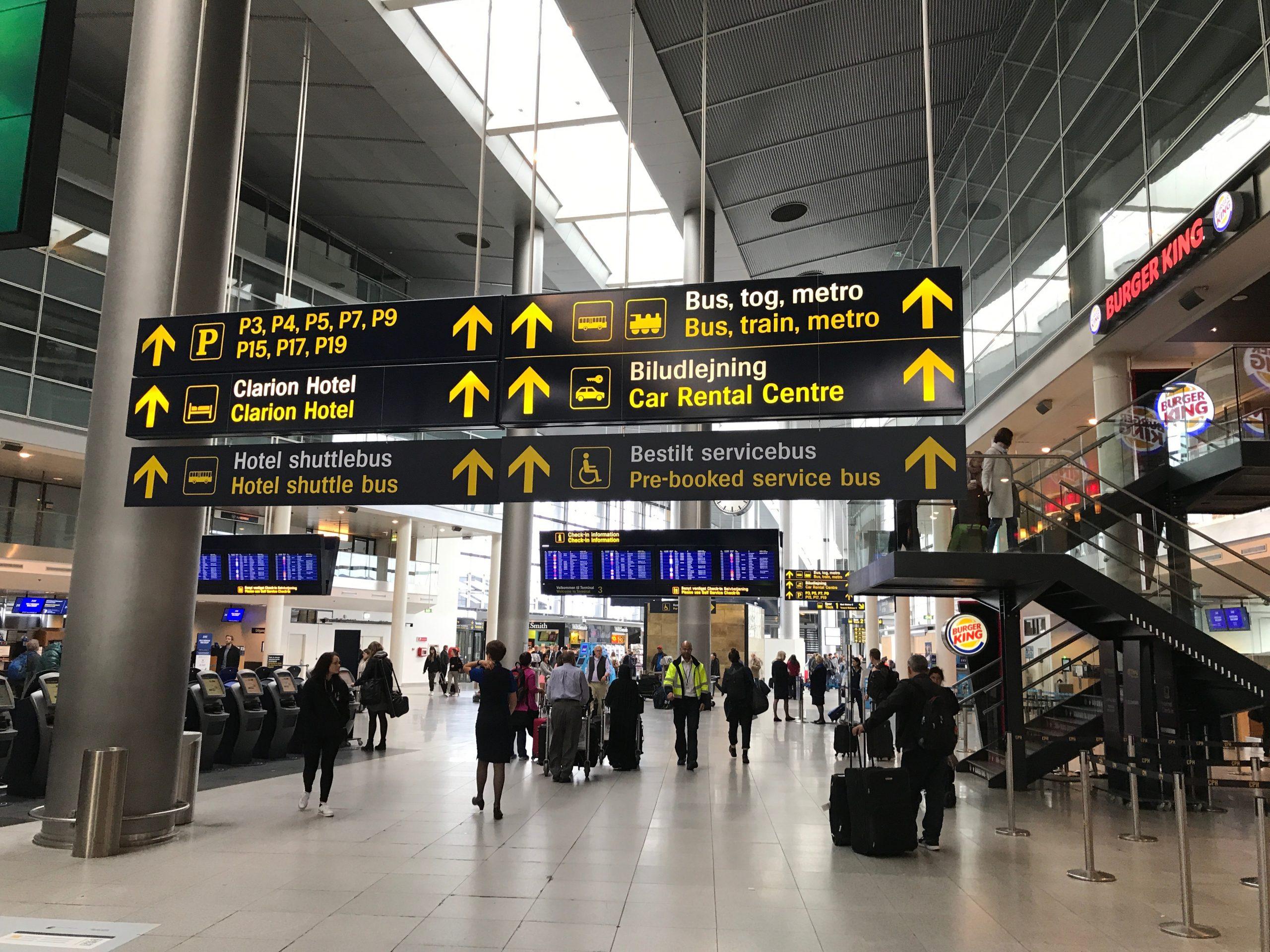 Københavns Lufthavn er tilgængelig med både bus, tog og metro. (Arkivfoto: Edward Pizzarello)