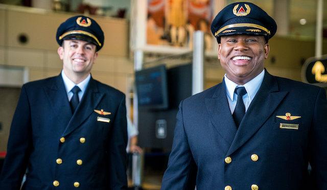 Piloter fra Delta Air Lines. Foto: PR