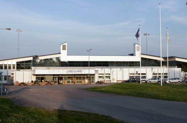 Terminalen i Stockholm-Västerås Flygplats. Foto: Svenska Regionala Flygplatser
