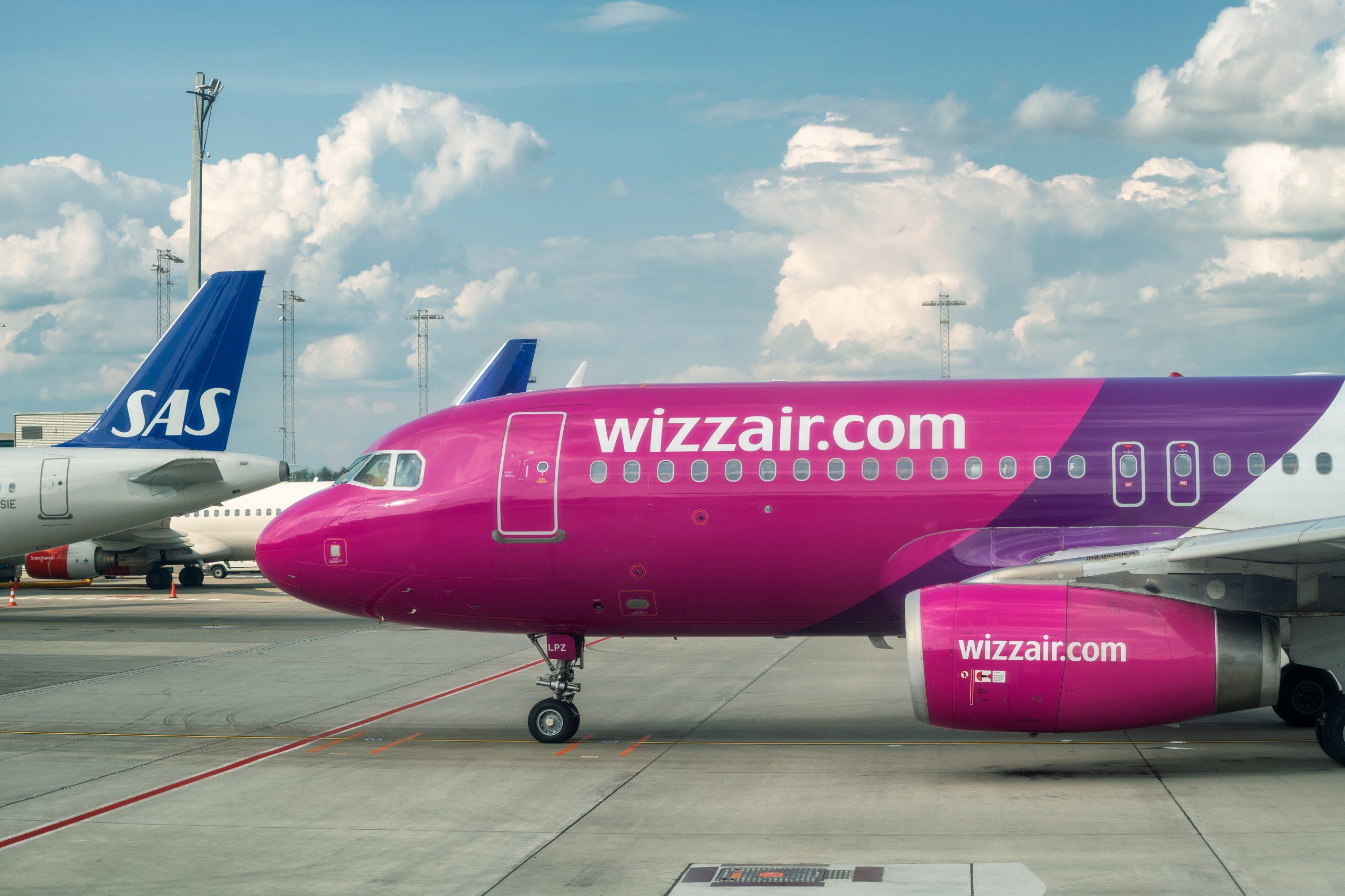 Fly fra Wizz Air i Oslo Lufthavn. (Foto: GagliardiPhotography)