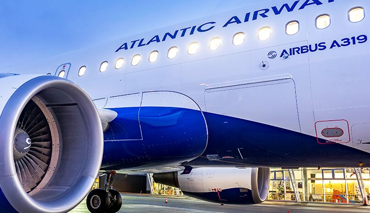 Airbus A319 fra Atlantic Airways. (Foto: Atlantic Airways)