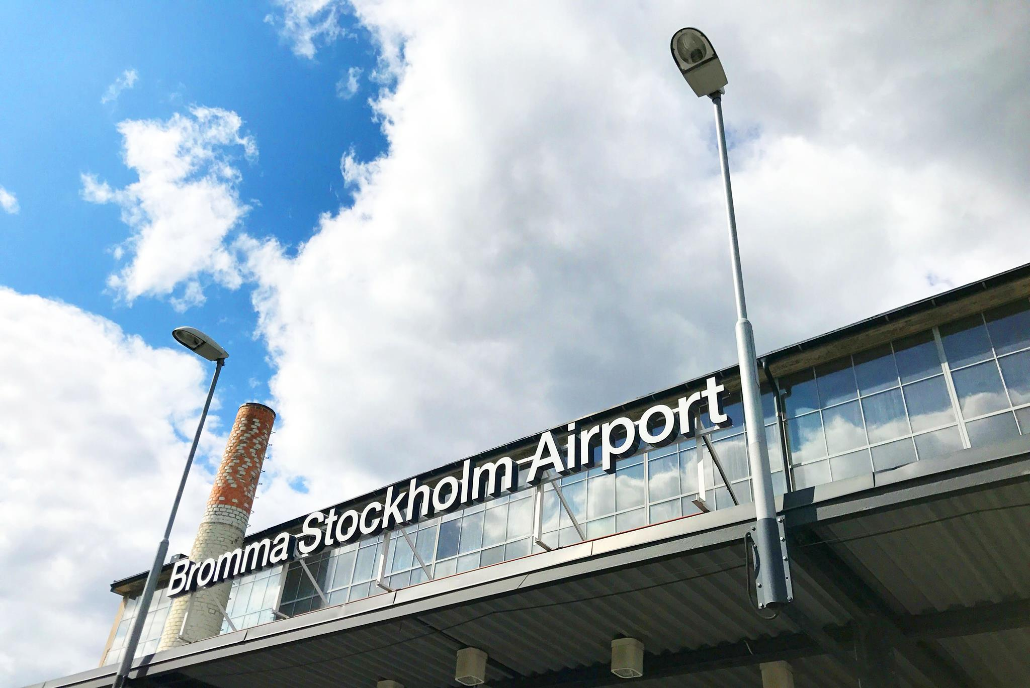 Bromma Stockholm Airport (Foto: Swedavia)