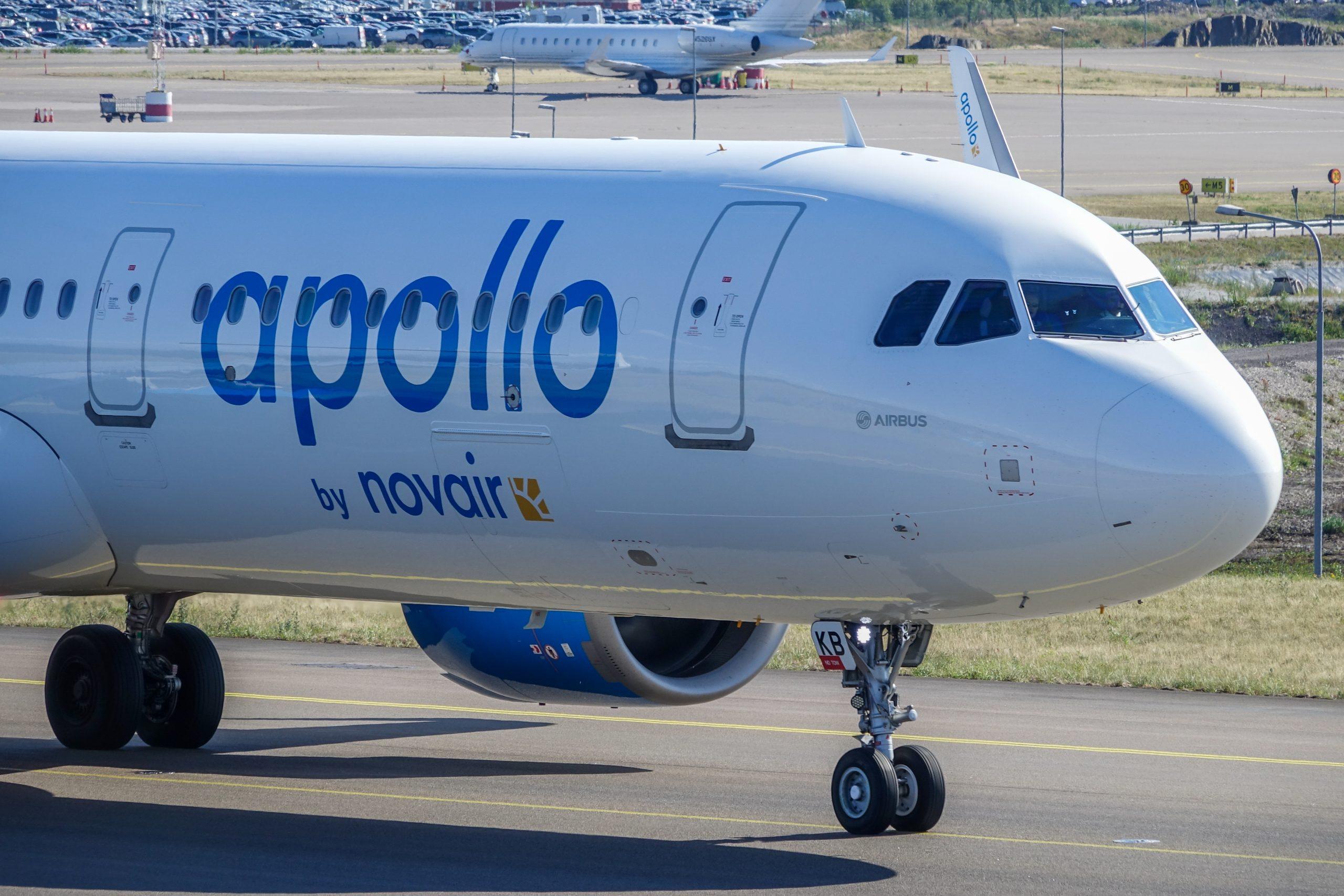 Airbus A321neo fra Novair. (Foto: B. Forenius)