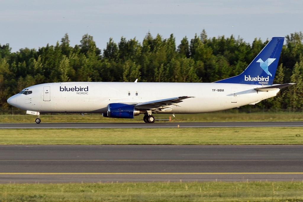Boeing 737-400F fra Bluebird Nordic (Foto: Anne Zvereva | CC 2.0)