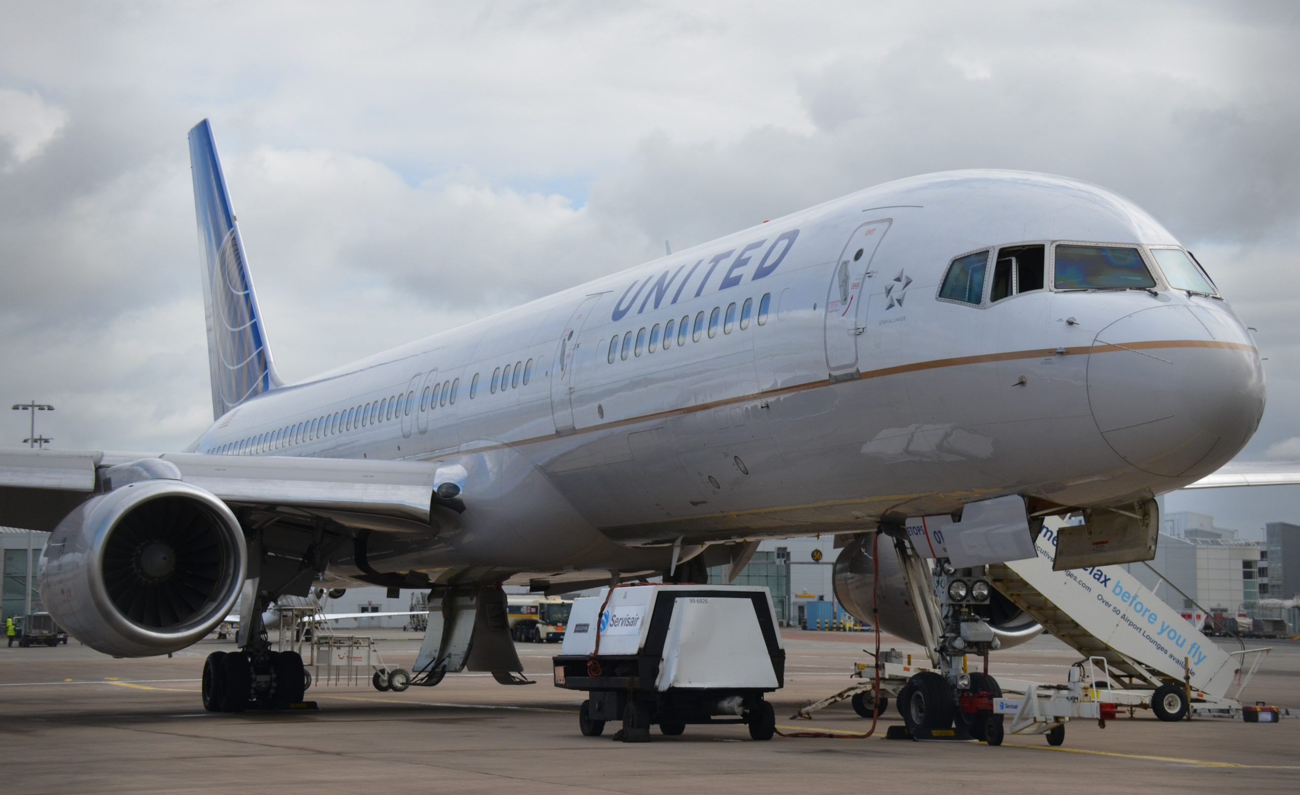 Boeing 757-200 fra United Airlines. (Foto: Russavia | CC 2.0)