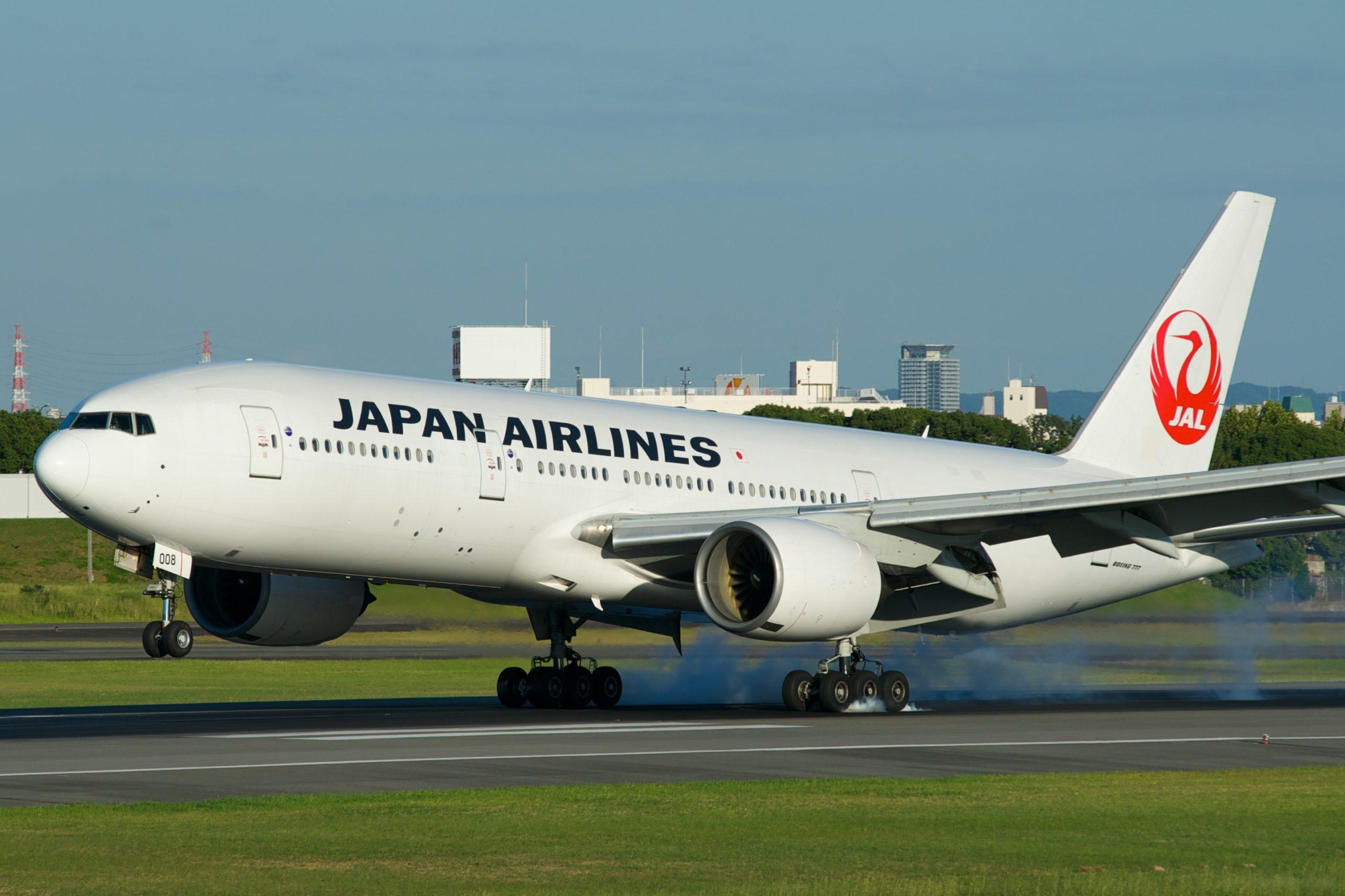 En Boeing 777-200 fra Japan Airlines. Foto: BriYYZ, CC 2.0