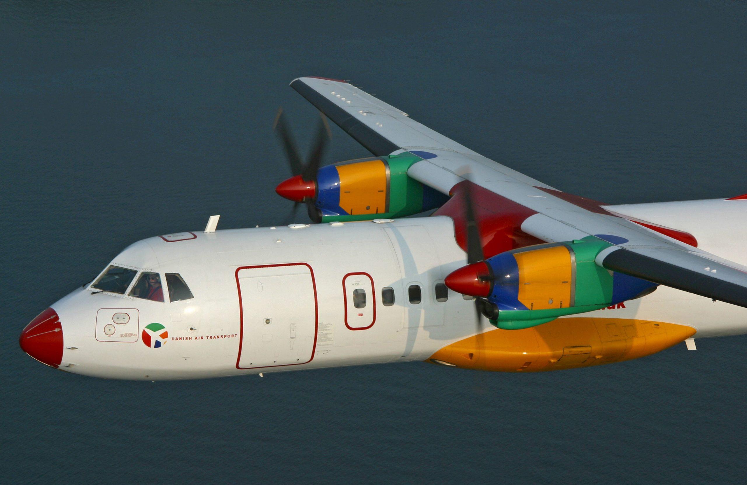 ATR 42-300 (OY-CIR) fra DAT. ((Foto: © Thorbjørn Brunander Sund, Danish Aviation Photo)