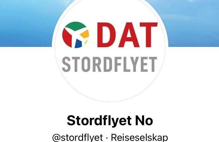 Screendump af den falske Facebook-profil med norske Stordflyet.