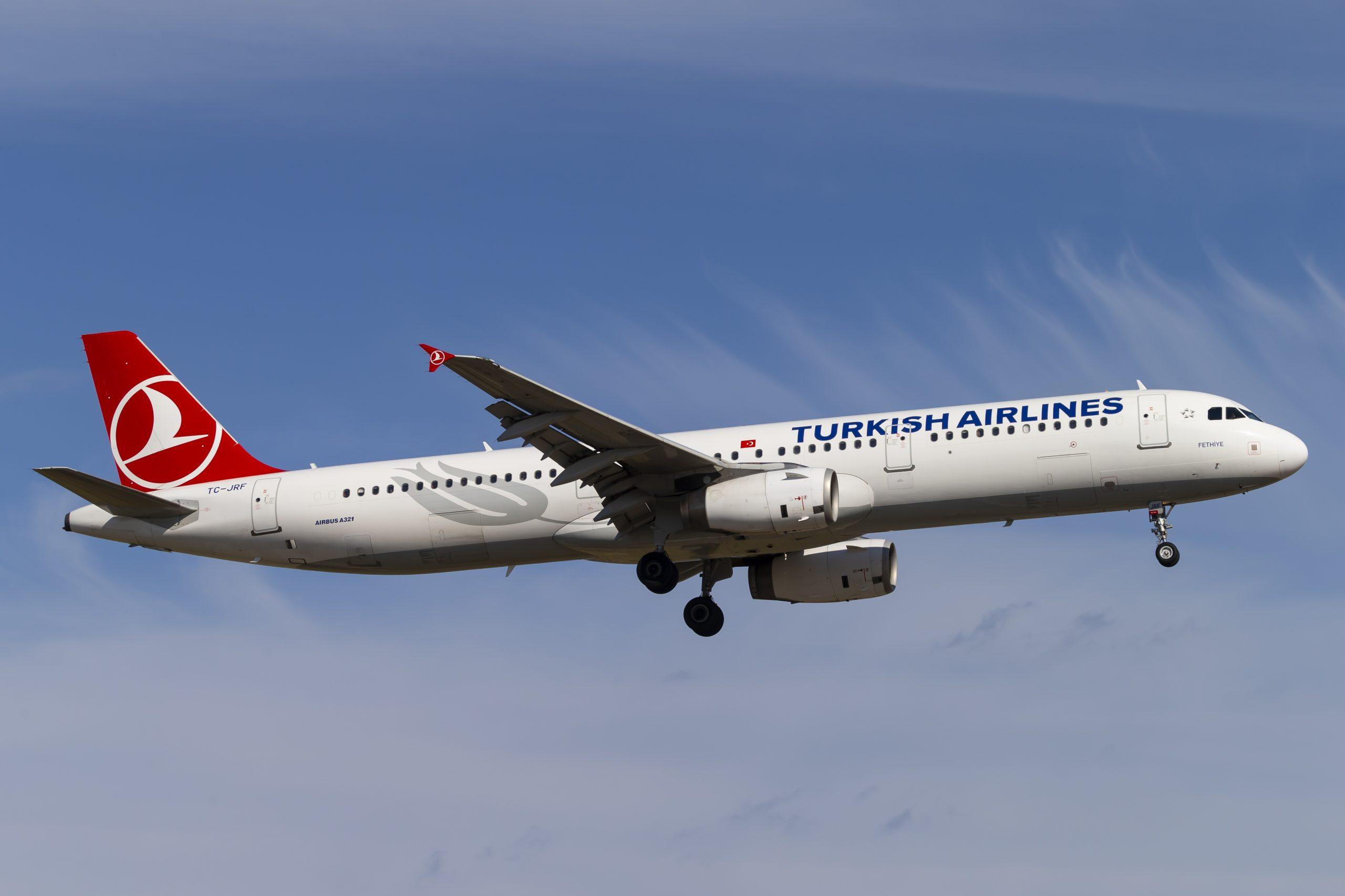 En Airbus A321-200 fra Turkish Airlines. (Foto: © Thorbjørn Brunander Sund, Danish Aviation Photo)