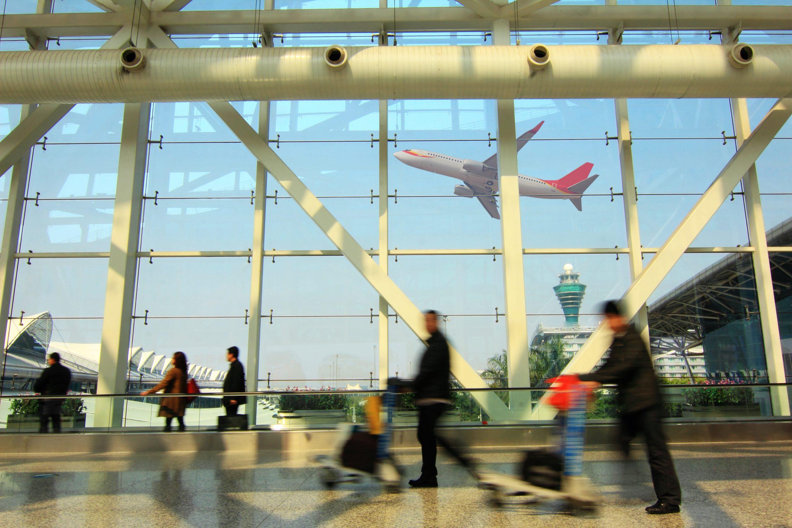 Guangzhou Baiyun International Airport (Foto: Fuyu Liu)