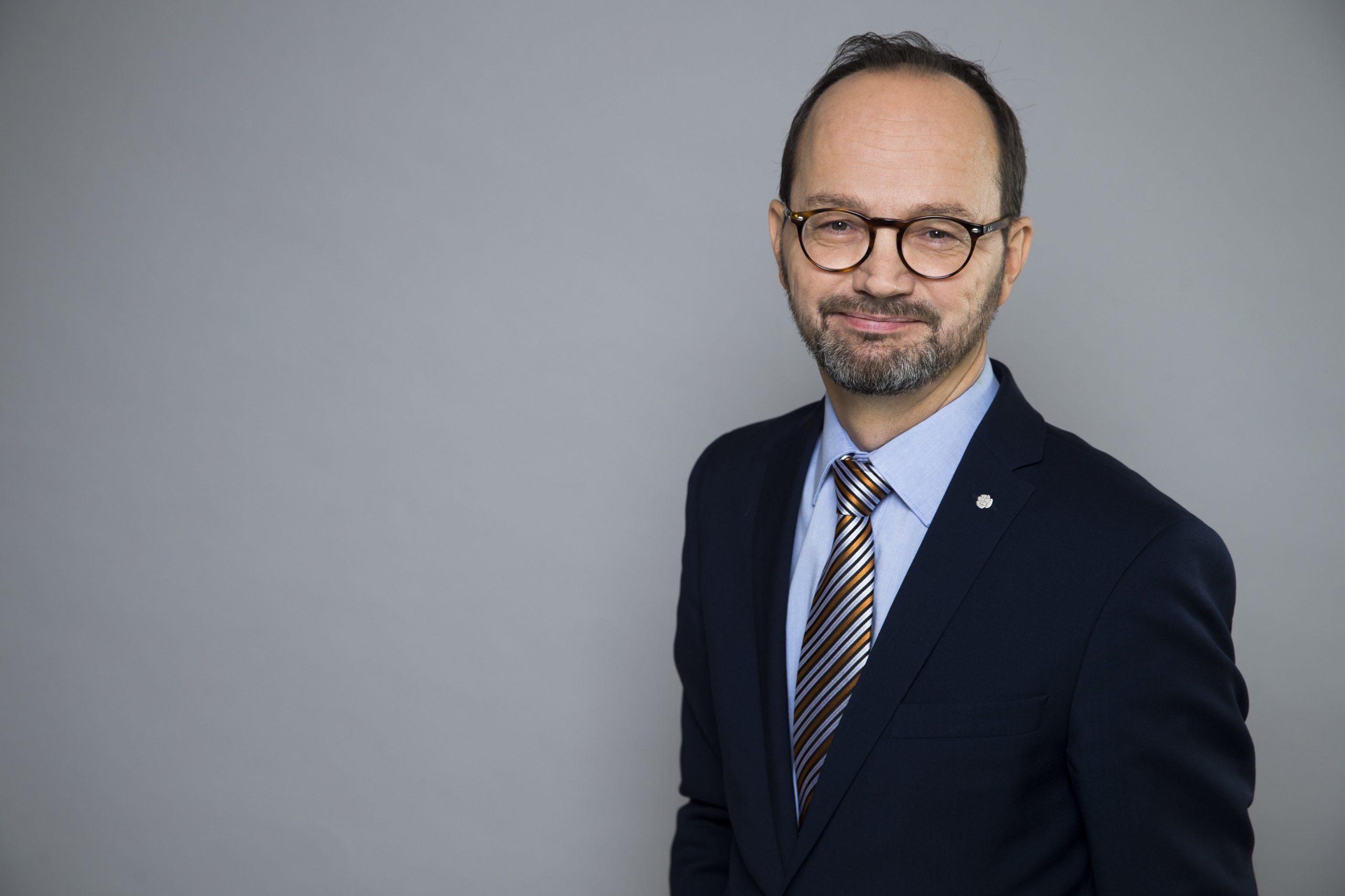 Tomas Eneroth Infrastrukturminister i Sverige. (Foto: Kristian Pohl/Regeringskansliet)