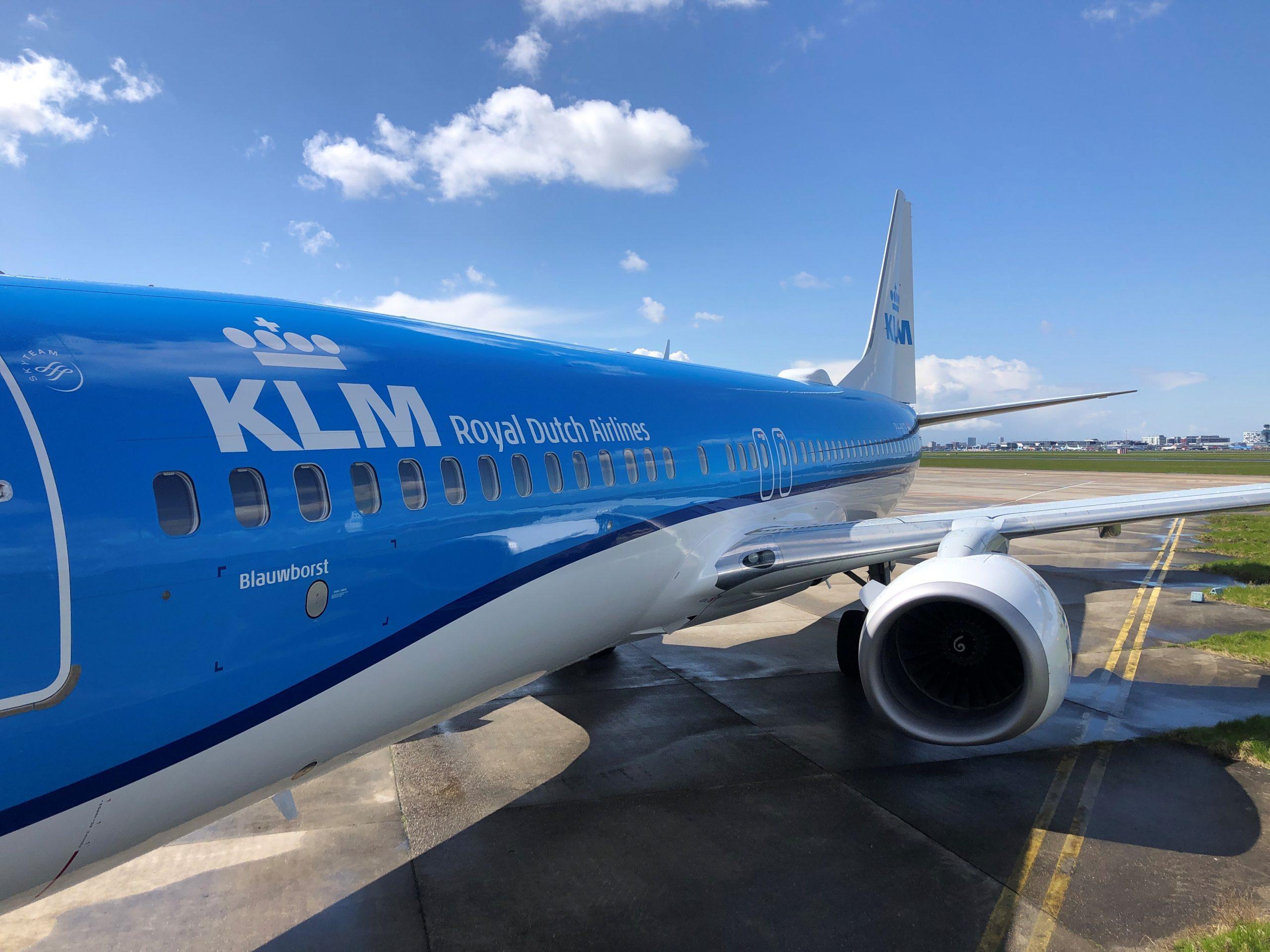 En Boeing 737-800 fra KLM. Foto: KLM