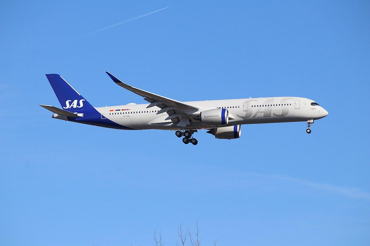 Airbus A350-900 fra SAS. (Foto: Dylan T   CC 2.0)