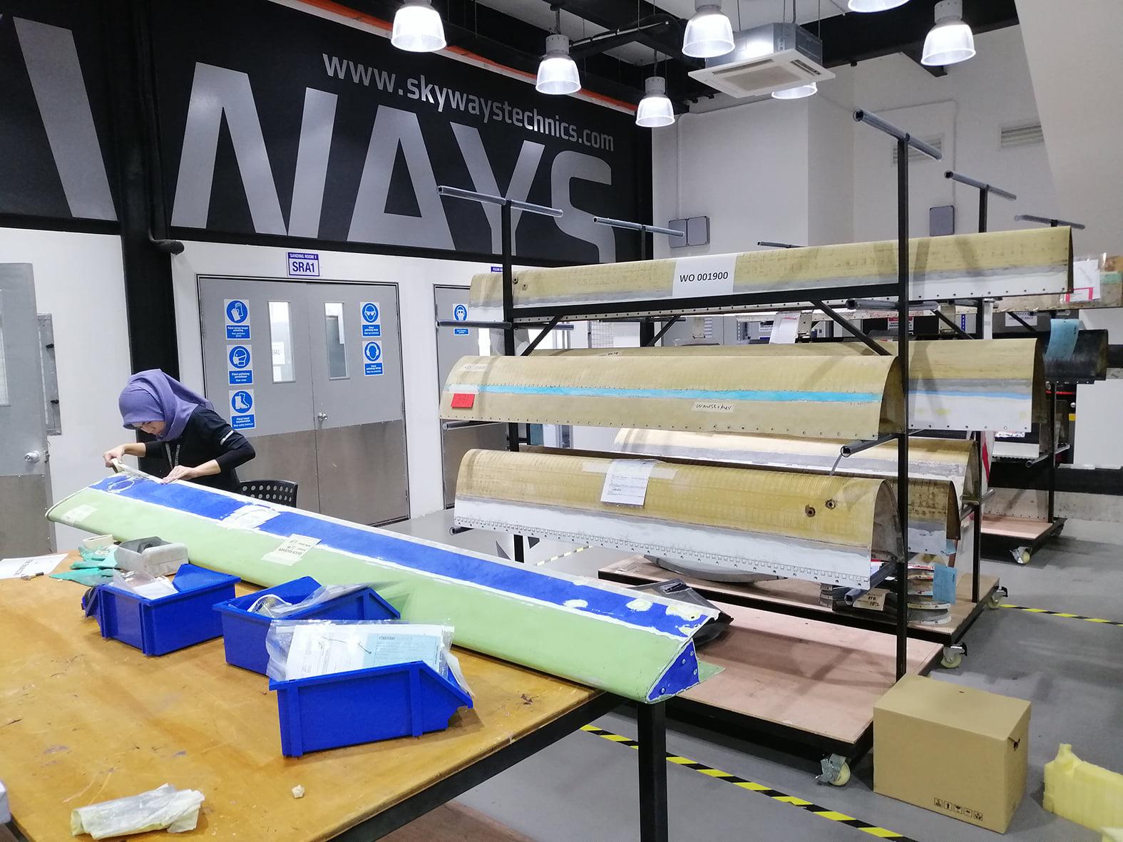 ATR Aircraft har indledt samarbejde med Skyways Technics-afdelingen i Kuala Lumpur (Foto: Skyways Technics   PR)