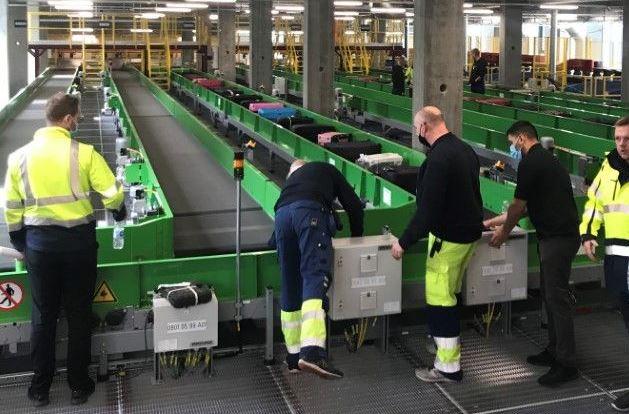 CPH gennemførte i sidste uge en Operational Readiness Activation and Transition (ORAT)-test af den nye bagagefabrik. (Foto: CPH)