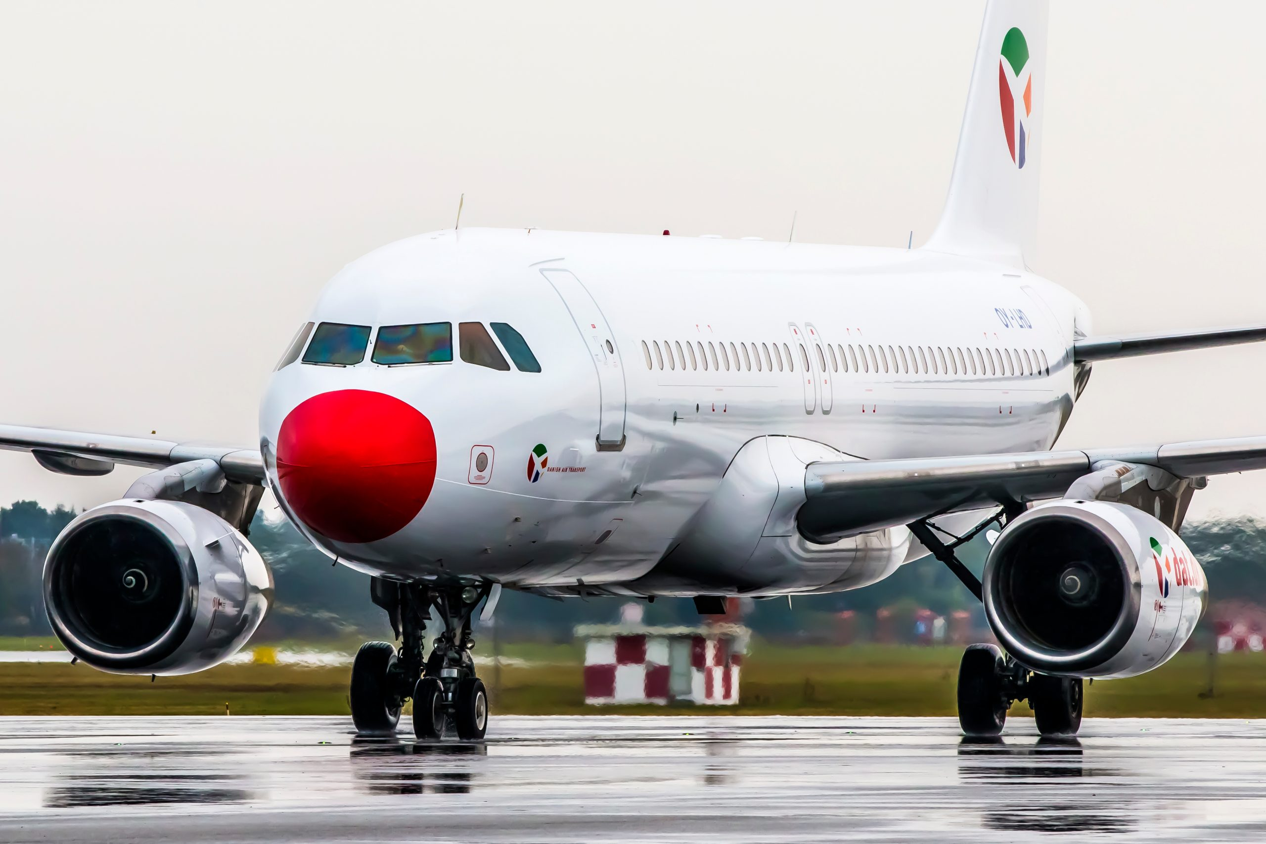 Flere afgange vil blive fløjet med DAT's  Airbus 320. (Foto: DAT)