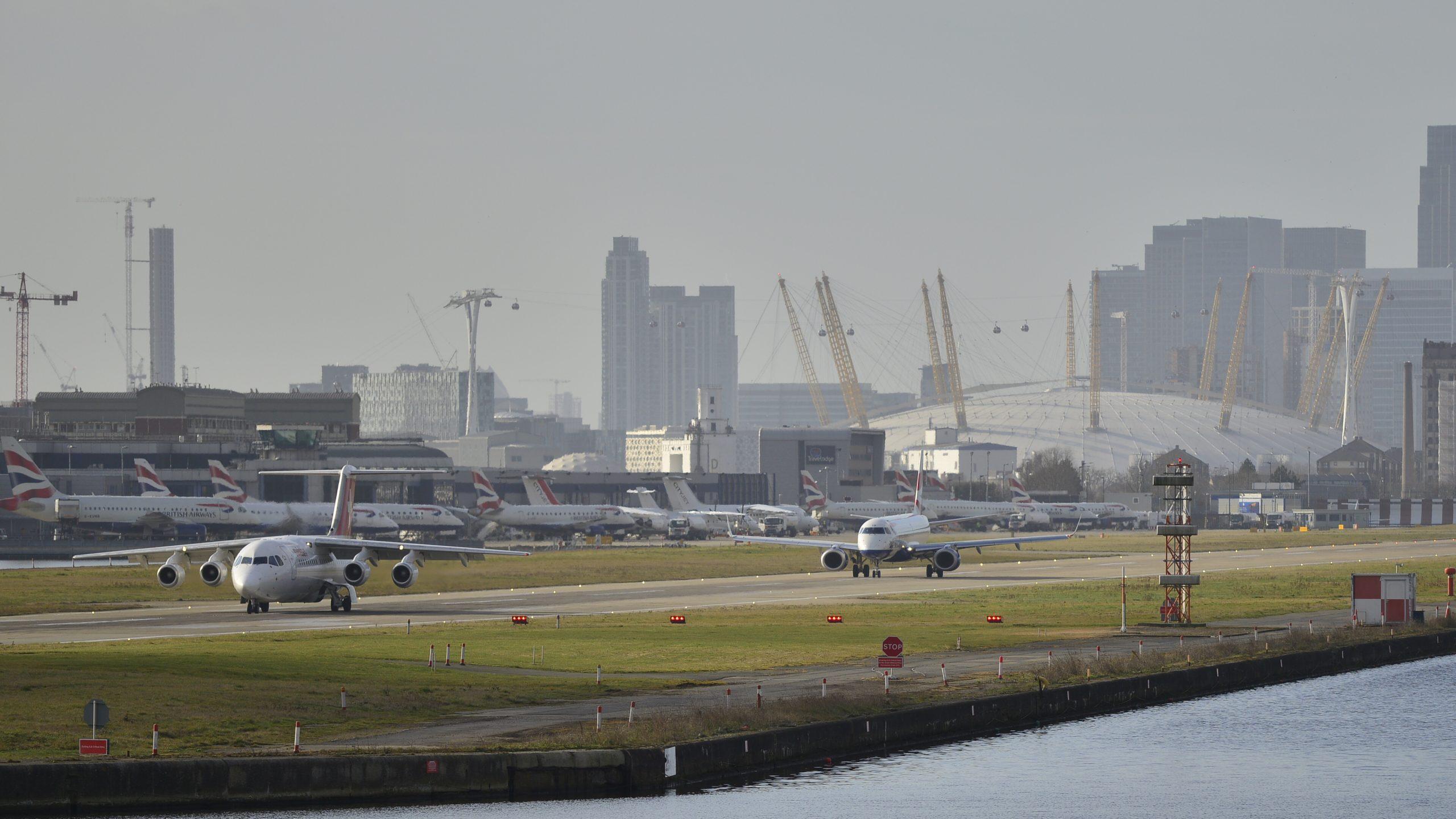London City Airport. Foto: Aleem Yousaf, CC 2.0