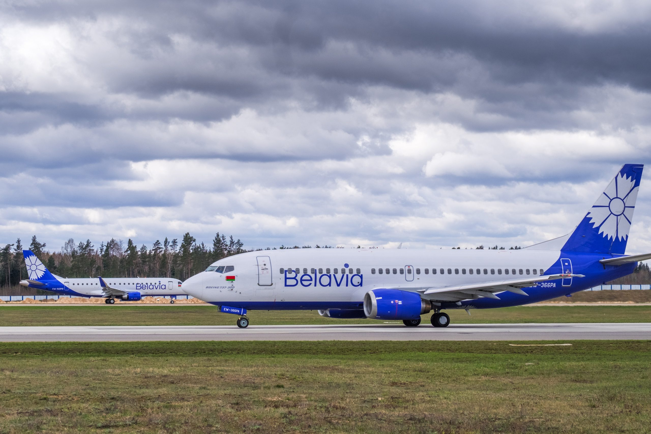 Fly fra hviderussiske Belavia. (Foto: Belavia | PR)