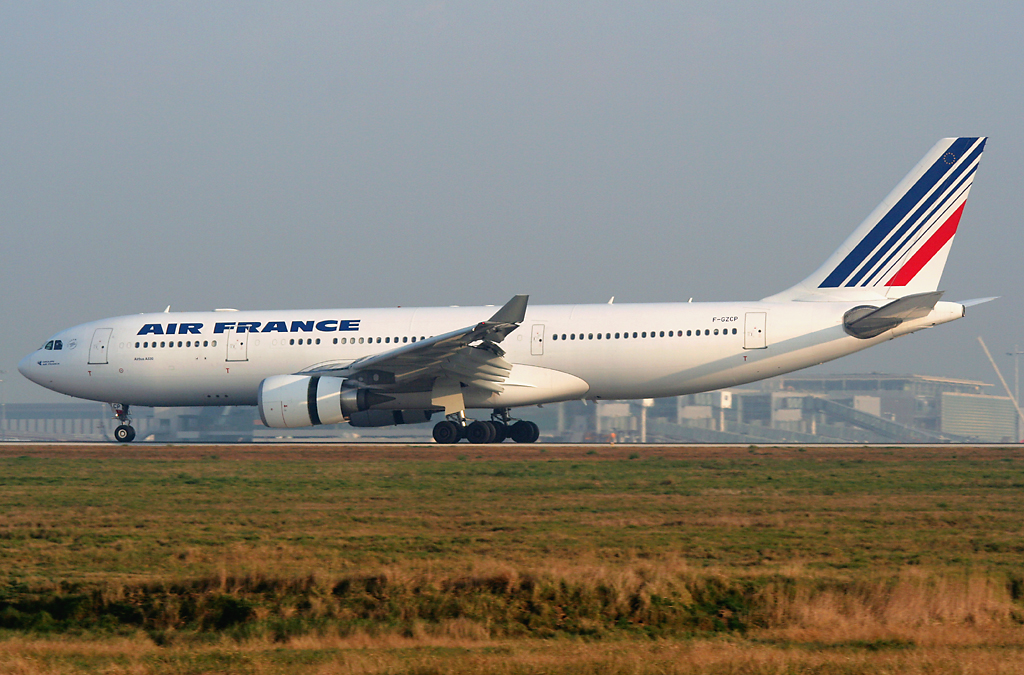 Airbus A330-200 fra Air France med registreringen F-GZCP, der forulykkede  undervejs fra Rio de Janeiro til Paris-CDG. (Foto: Pawel Kierzkowski | CC 3.0)