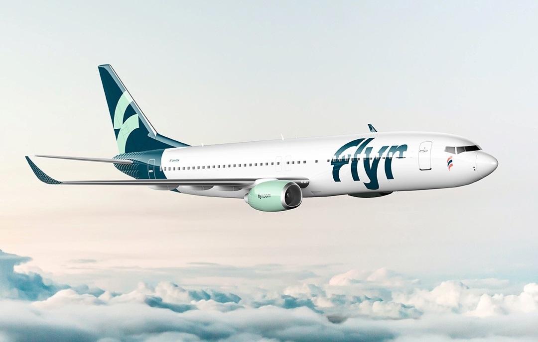 Boeing 737-800 fra Flyr. (Foto: Flyr | PR)