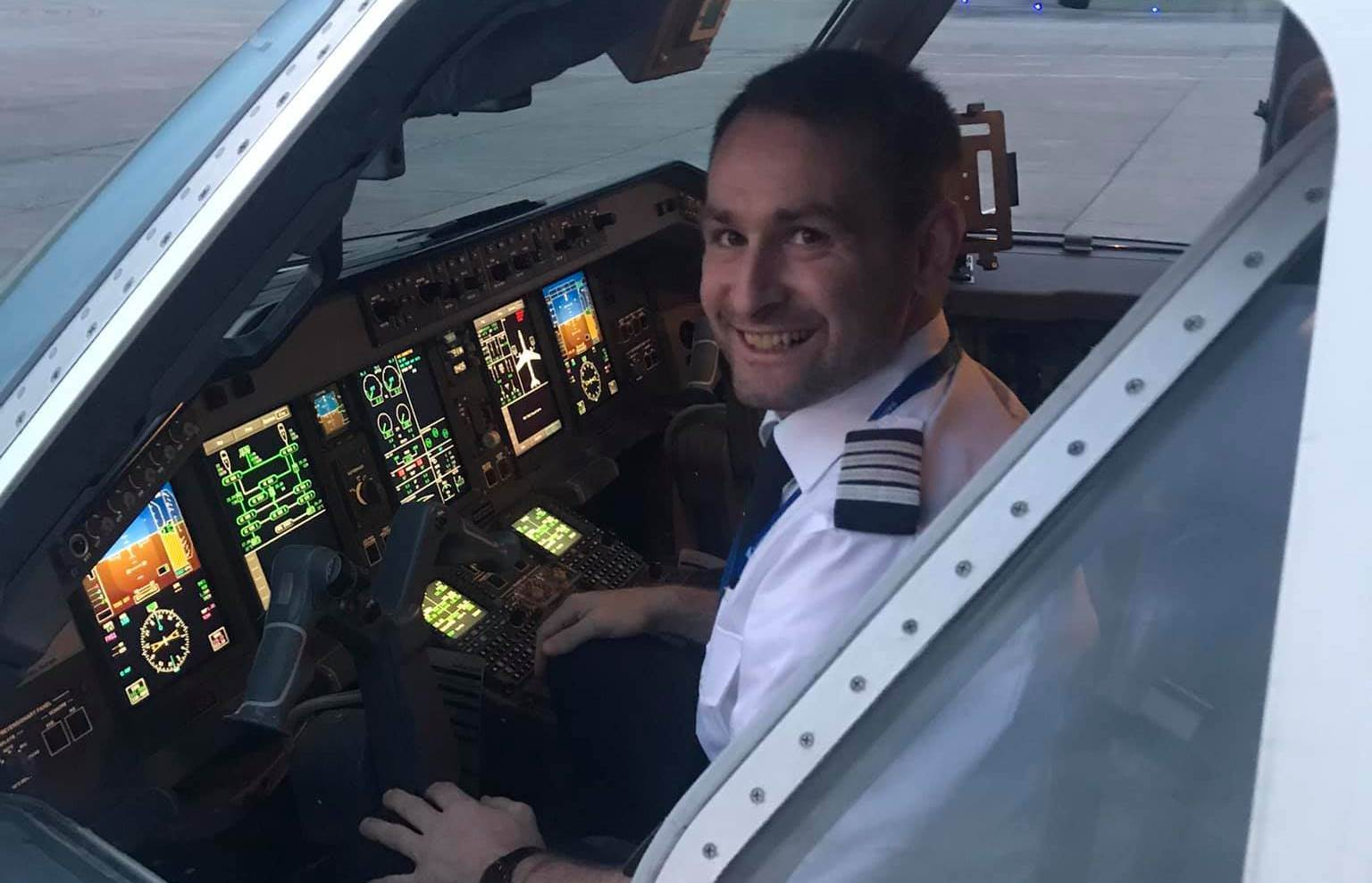 Thomas Hugo Møller, flykaptajn og adm. direktør i Great Dane Airlines. (Foto: Peter Christian Bühlmann Jensen)