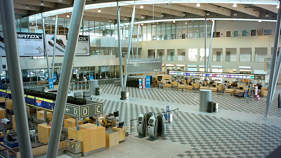 Afgangshallen i Billund Lufthavn. (Foto: Billund Lufthavn | PR)