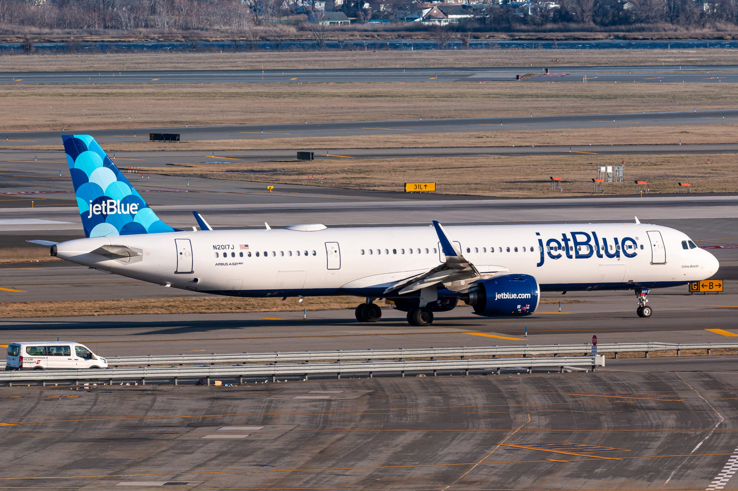Airbus A321 fra JetBlue (Foto: Lukas Wunderlich)