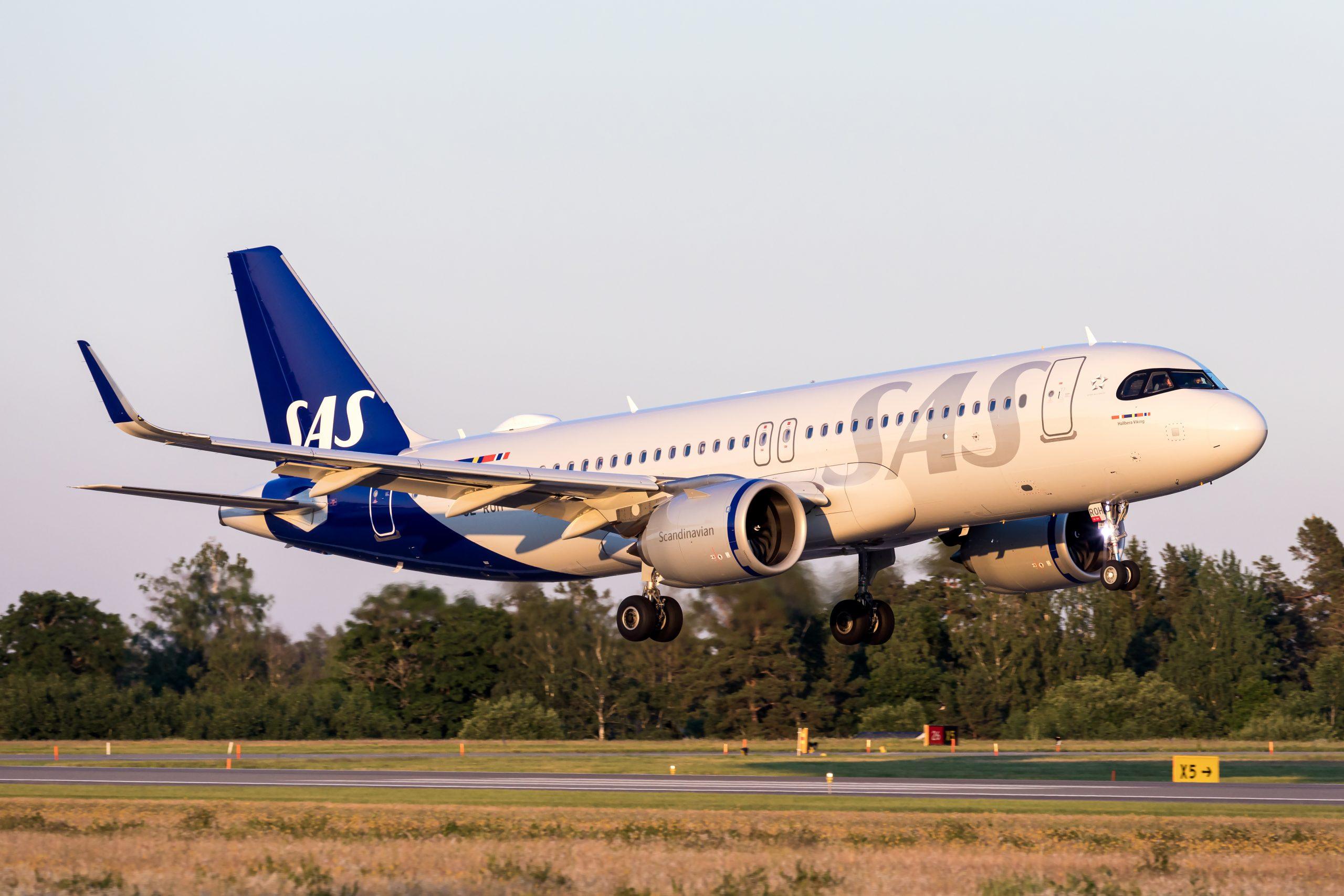 SAS Airbus A320neo (Foto: Flypix)