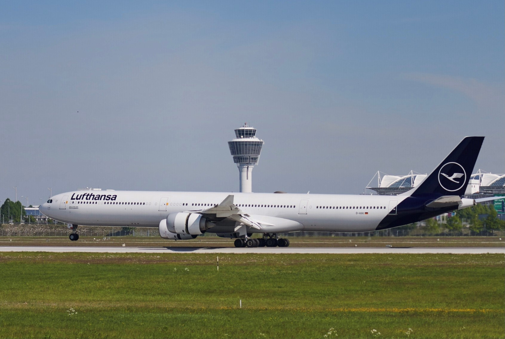 Airbus A340-600 fra Lufthansa i lufthavnen i München. (Foto: Lufthansa | PR)