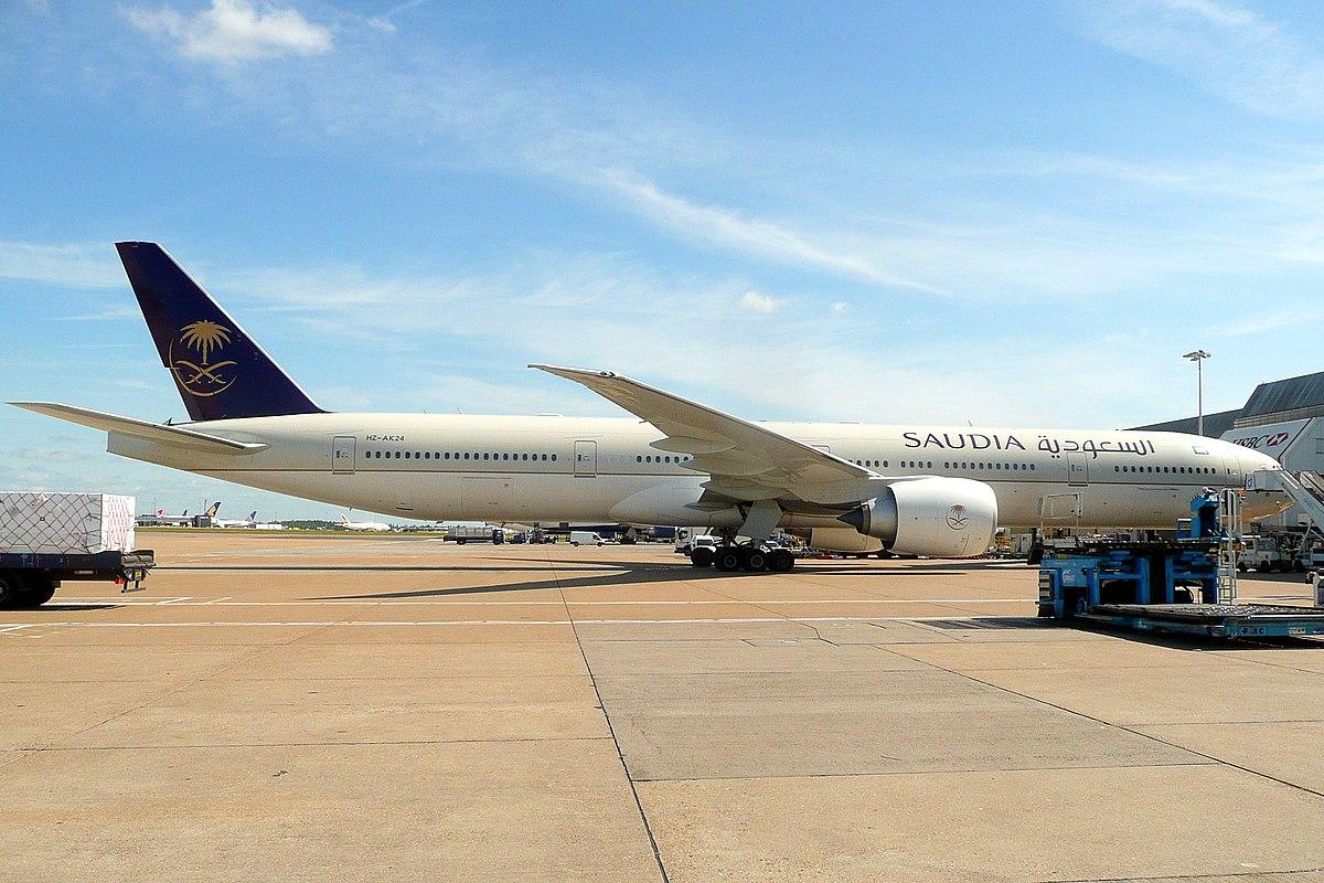 Boeing 777-300ER fra Saudia. (Foto: John Taggart | CC 2.0)