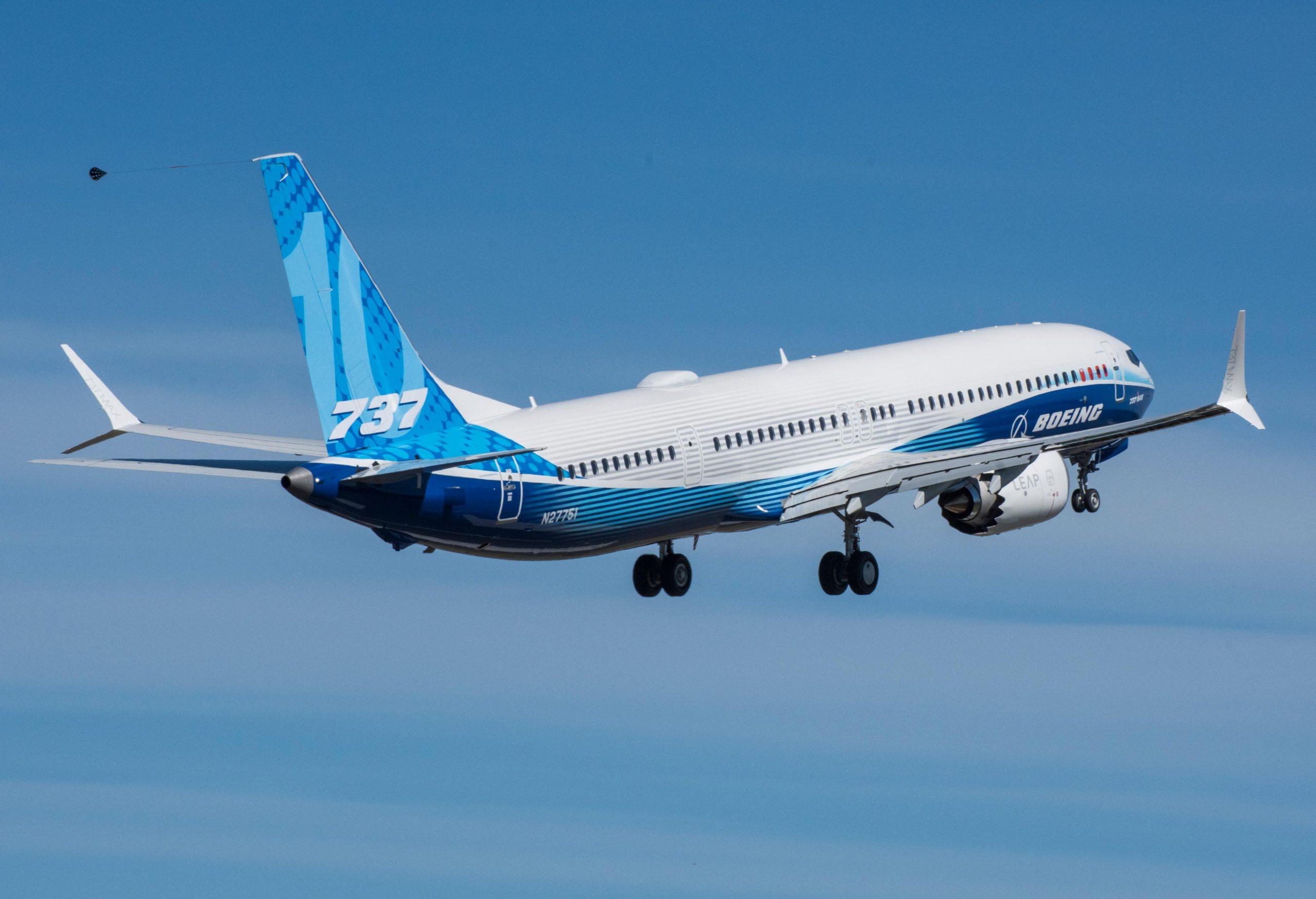 Boeing 737 MAX 10 (Foto: Boeing)