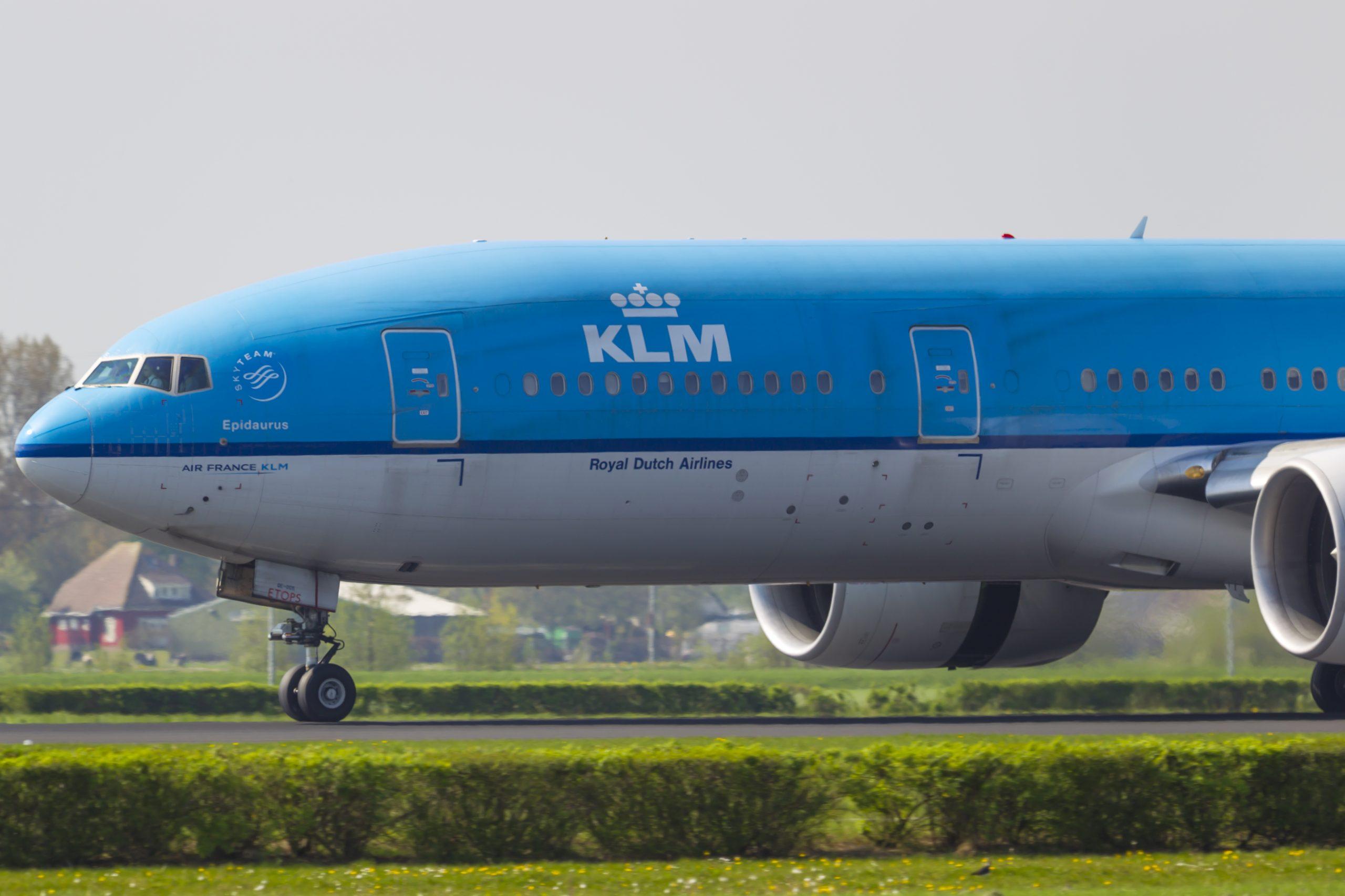 En Boeing 777-200ER fra KLM. (Foto: © Thorbjørn Brunander Sund, Danish Aviation Photo)