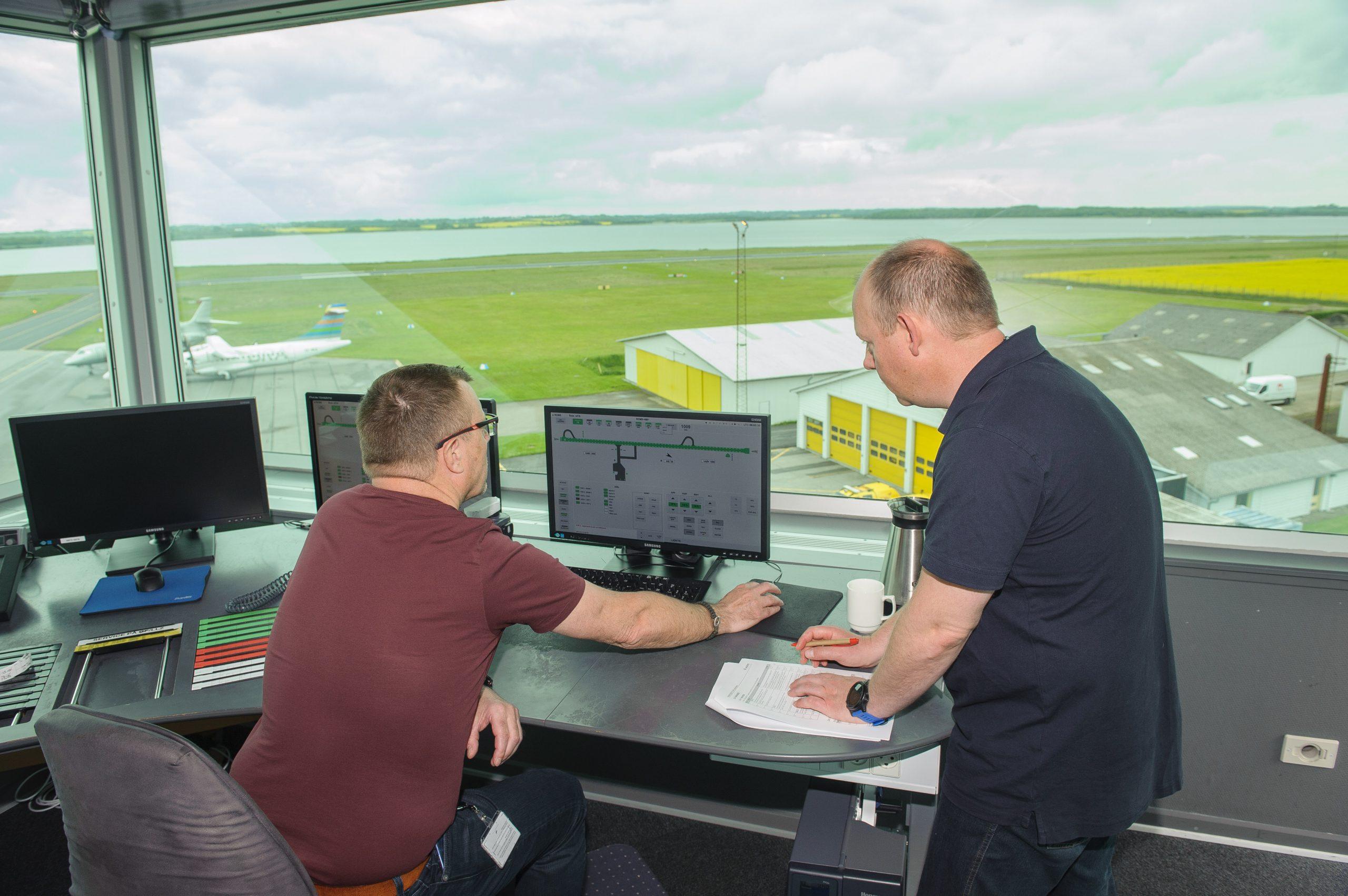 Sønderborg Lufthavn har opgraderet flere systemer for at forbedre de operationelle procedurer. Foto: Sønderborg Lufthavn